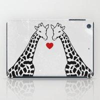 Giraffe Love iPad Case