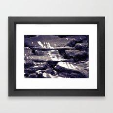 Muddy Leaf 1 Framed Art Print
