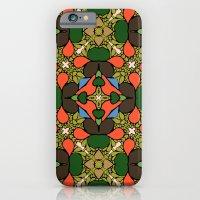 Retro Orange iPhone 6 Slim Case