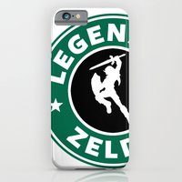 iPhone & iPod Case featuring Legend Of Zelda by Royal Bros Art