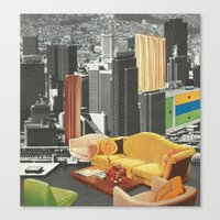 The City As Home 2 Canvas Print