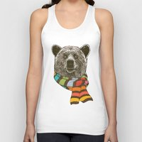 Winter Bear Unisex Tank Top