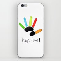 High Five! iPhone & iPod Skin