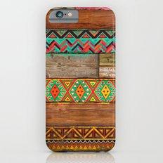 Indian Wood Slim Case iPhone 6s