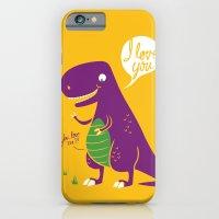 The Friendly T-Rex iPhone 6 Slim Case