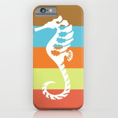 sea side story: seahorse   iPhone 6 Slim Case