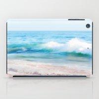 Aquamarine Dreams 1 iPad Case