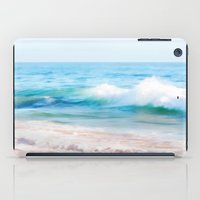 Aquamarine Dreams 1 iPad Case