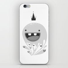 King Lip of the Squiggles iPhone & iPod Skin