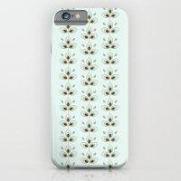 Mint Blossoms iPhone 6 Slim Case