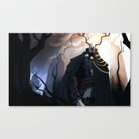 Forest Knights Canvas Print