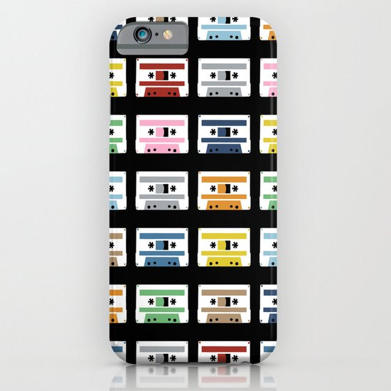 Rainbow Tapes iPhone & iPod Case