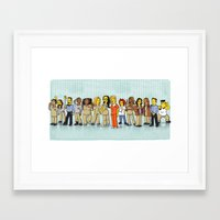 Simpsonized is the New Black Framed Art Print