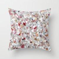 Chameleonic Panelscape Jacopo Throw Pillow