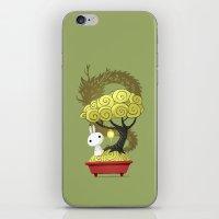 Bonsai Bunny iPhone & iPod Skin