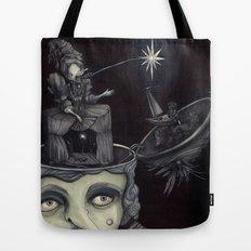 Ghost Light Tote Bag