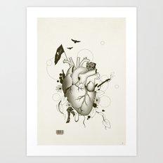 I Love Design Art Print