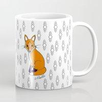 Orange Fox Mug