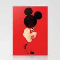 Deconstructing Mickey Stationery Cards