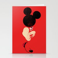 Deconstructing Mickey Stationery Cards
