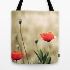 Vintage Summer - Poppy Tote Bag