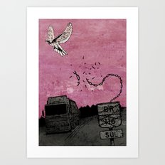 Ascend (Meninadanca Charity Print) Art Print