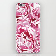 Broken Peony iPhone & iPod Skin