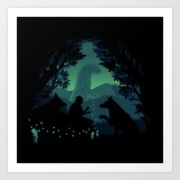 Forest Dwellers Art Print