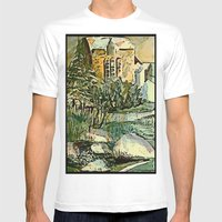 The Gardeners House Mens Fitted Tee White SMALL