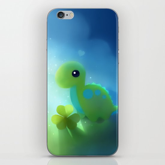 bronto dino iPhone & iPod Skin
