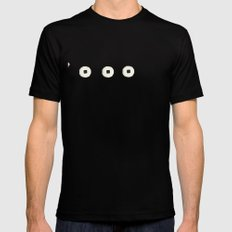 Snore Mens Fitted Tee Black SMALL