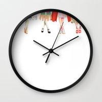Legs and heeels Wall Clock