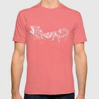 Yosemite Mens Fitted Tee Pomegranate SMALL
