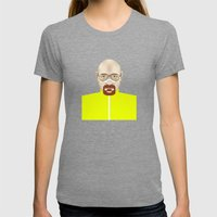 Walter White Womens Fitted Tee Tri-Grey SMALL