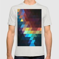 color story - spectrum Mens Fitted Tee Silver SMALL