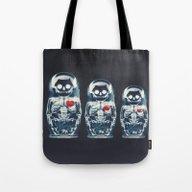 Nesting Doll X-Ray Tote Bag
