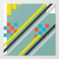 Squarely Canvas Print