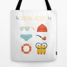Captain Jacques 02 Tote Bag