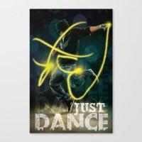 Flash Dance Canvas Print