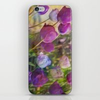 Lavender Flora  iPhone & iPod Skin