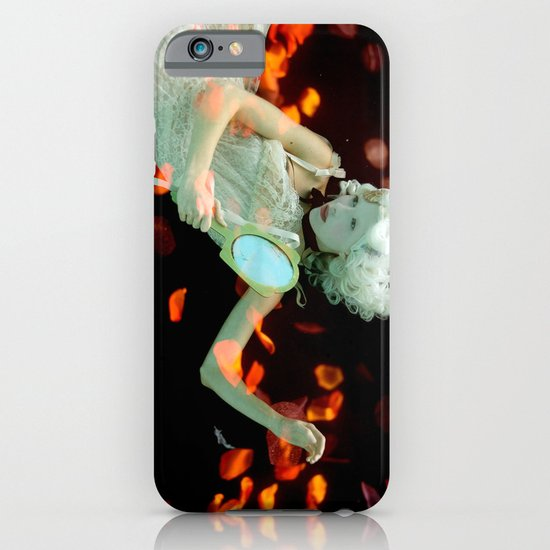 Girl Floating iPhone & iPod Case