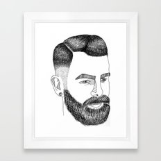 Haircut 60's Framed Art Print