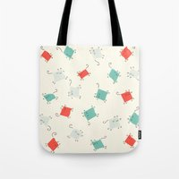 Tape cats Tote Bag