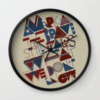 America the Brave Wall Clock