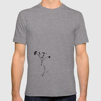 Leftovers Mens Fitted Tee Athletic Grey SMALL