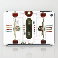 The Anatomy of a Skateboard iPad Case