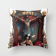 Cirque du Mort Throw Pillow