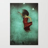 Leaving Behind the Sky Canvas Print