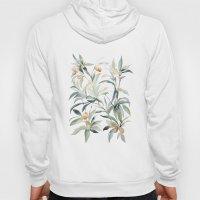 Watercolor Leaves Hoody