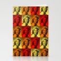 Rita Hayworth Color Stationery Cards